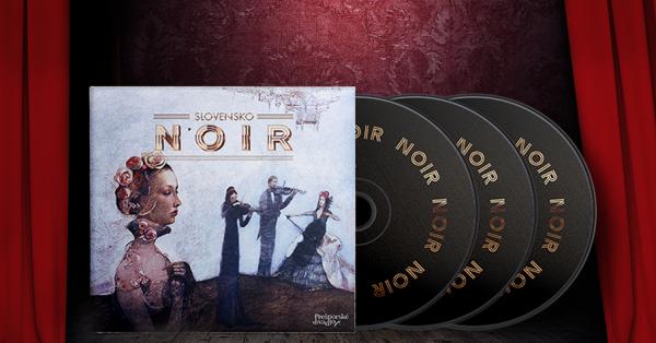 Slovensko NOIR / CD audiokniha