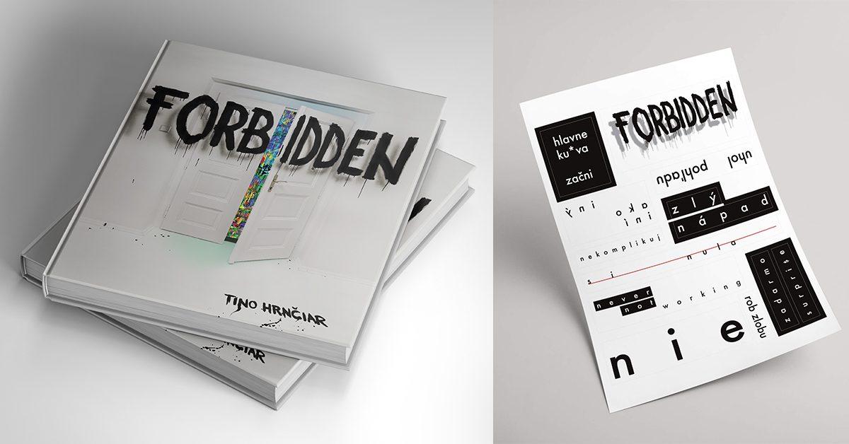 FORBIDDEN / 2x kniha (SK) + nálepky